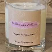 Bougie parfumée Parfums de merveilles