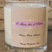 Bougie parfumée Paris mon amour