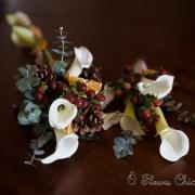 img Bouquet de mariée et demoiselle d