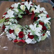 img Couronne rouge et blanche