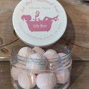 Perles de bain et plâtre parfumé Lily rose