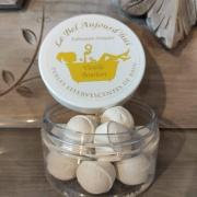 Perles de bain et plâtre parfumé Vanille Bourbon